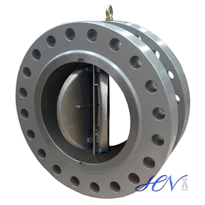 Double Flanged Carbon Steel Gas Disc Duo Plate Check Valve