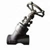 Forged Carbon Steel High Pressure Y Type Globe Valve
