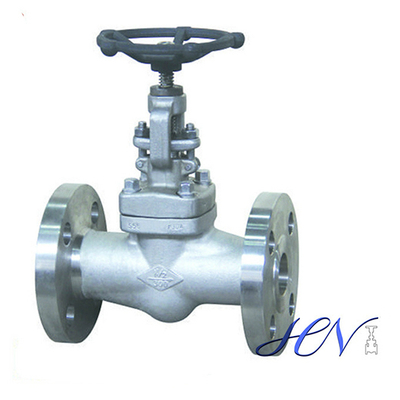 Stainless Steel Integral Flanged Forged Globe Valve