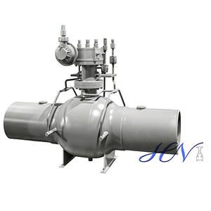 Natural Gas Pipeline Fire Safe Welded Body Full Bore Ball Valve