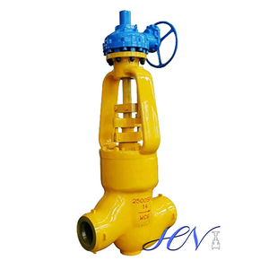 High Pressure Pressure Seal Bonnet Alloy Steel Gear Operated Globe Valve