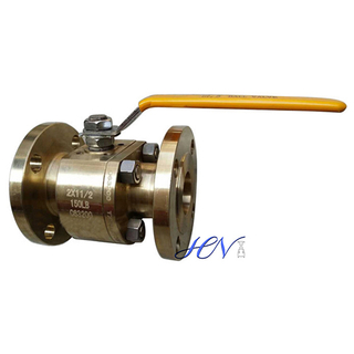 Bronze Flanged Reduced Bore Floating Ball Valve
