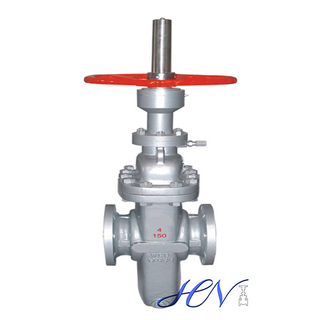 API 6D Carbon Steel Flanged Parallel Disc Gate Valve