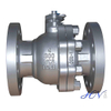 Soft Seated Cast Steel Flanged Floating Ball Valve