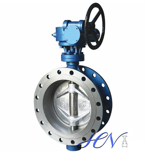 Double Eccentric Gear Operated Butterfly Valve Flange Type