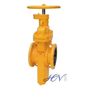 Slab Cast Steel Flanged Parallel Slide Gate Valve