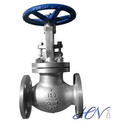 Stainless Steel Flanged Manual Globe Valve