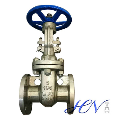 Low Pressure Handwheel Flanged Carbon Steel Flexible Wedge Gate Valve