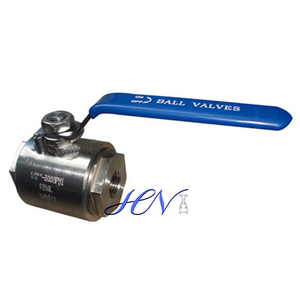 Forged SS 316L Lever Operated Floating Ball Valve