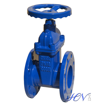 Cast Iron Water Flanged Resilient Seated Gate Valve