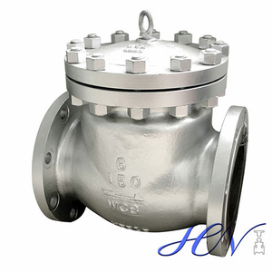 Air Pump Low Pressure Flanged Type Cast Steel Swing Check Valve