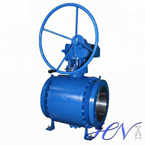 Industrial Flanged Side Entry Forged Trunnion Mounted Ball Valve