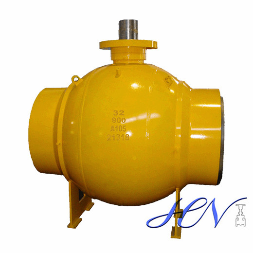 High Pressure Carbon Steel Fire Safe Welded Body Ball Valve