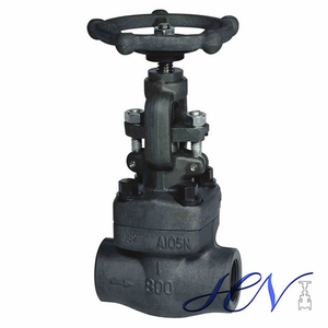Steam Threaded Forged Steel Manual Globe Valve