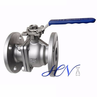 Direct Mounting Lever Stainless Steel Cast Steel Floating Ball Valve
