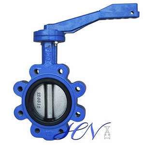 Lug Type Casr Iron Manual Centric Butterfly Valve