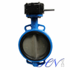 Ductile Iron Wafer Soft Seated Centric Butterfly Valve