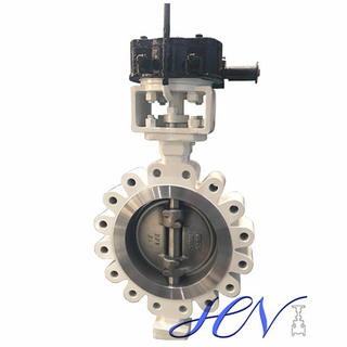 API Standard Manual Carbon Steel Metal Seated Triple Offset Butterfly Valve