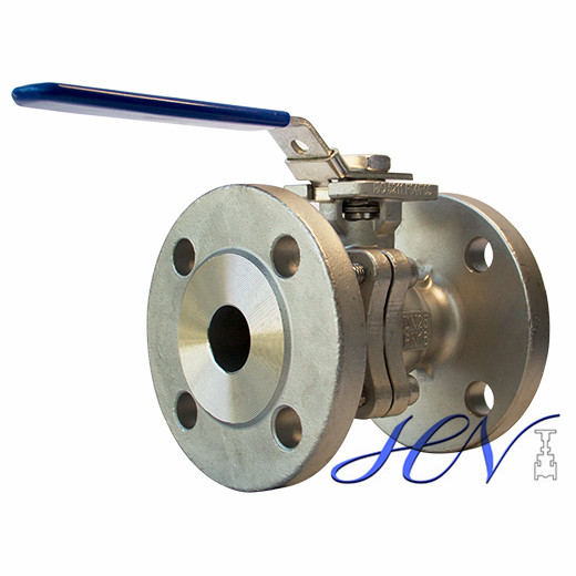 Lever Operated DIN Carbon Steel Flanged Floating Ball Valve