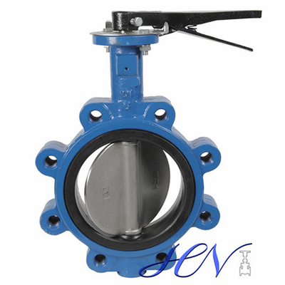Manual Lug Type Soft Seated Centric Butterfly Valve