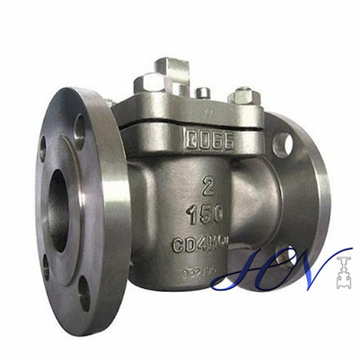 Duplex Stainless Steel Oilfield Flanged Wrench Operated Sleeved Plug Valve