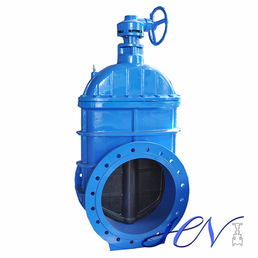 Soft Seated Flanged Cast Iron Gear Operated Irrigation Gate Valve