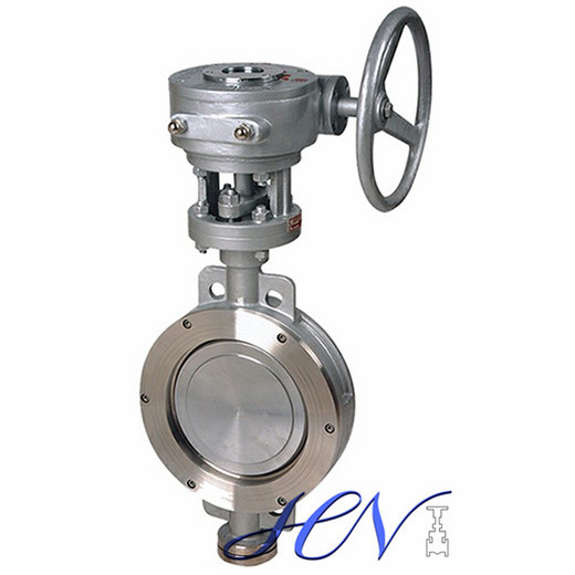 Metal Seated Wafer Gear Operated Double Eccentric Butterfly Valve
