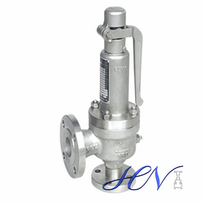 Differential Pressure Oil Pump Flanged Pressure Safety Relief Valve