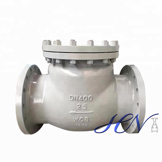 Industrial Flanged Condensate Pump Carbon Steel Swing Check Valve