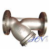 Industrial Flanged Stainless Steel Water Y Type Strainer