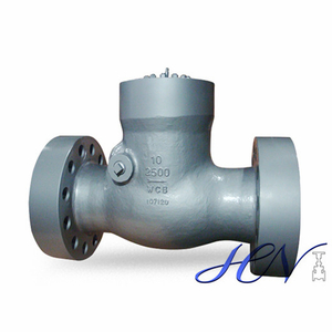 Compressor Pressure Seal Cover Cast Steel Flanged RTJ Swing Check Valve