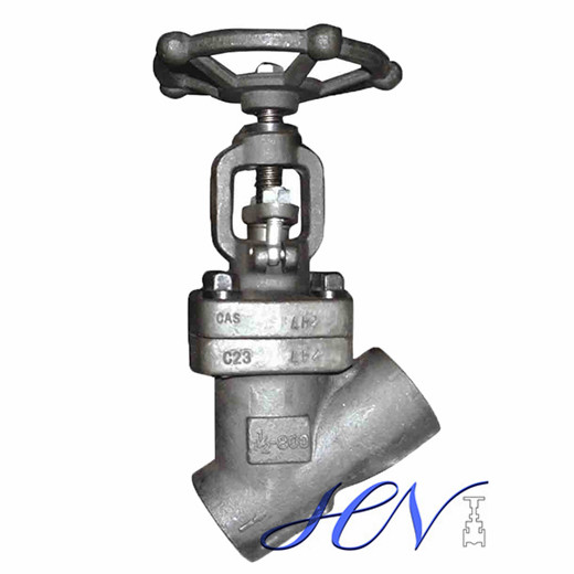 Rising Stem Forged Steel Socket Weld Y Type Globe Valve