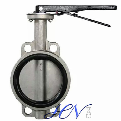 Wrench Resilient Seated Wafer Cast Iron Centric Butterfly Valve