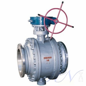 What is the difference between floating and trunnion mounted ball valve