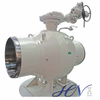 Gas Line Electric Carbon Steel Fire Safe Fully Welded Body Ball Valve