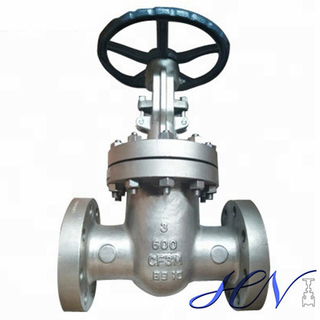 Fuel Pump Flanged Stainless Steel Manual Gate Valve