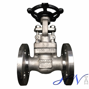 Integral Flanged Stainless Steel Industrial Forged Gate Valve
