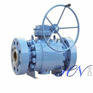 Manual Flanged Side Entry Forged Trunnion Ball Valve