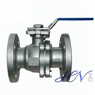 Industrial Fire Safe Flanged Stainless Steel Floating Ball Valve