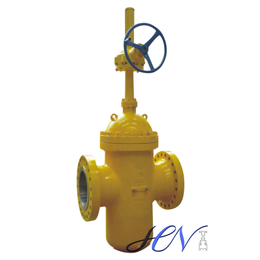 high pressure slab gate valve