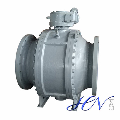 Boiler Drain Side Entry Carbon Steel Trunnion Mounted Ball Valve