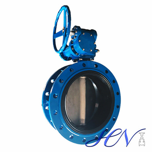Manual Cast Iron Flanged Quick Opening Concentric Butterfly Valve
