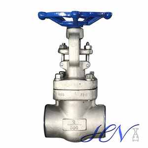 Bolted Bonnet Forged Stainless Steel Socket Welded Gate Valve