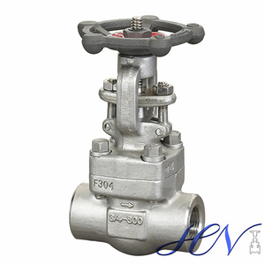 Threaded End Forged Stainless Steel Handwheel Globe Valve
