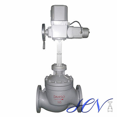 Electric Single Seat Flanged Flow Pressure Control Valve