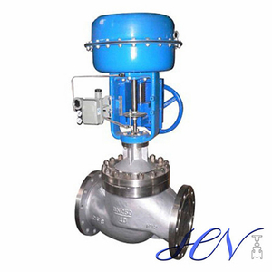 Spring Diaphragm Stainless Steel Gas Control Valve with Positioner