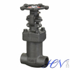 Bellow Seal Forged Steel Rising Stem Socket Welded Gate Valve