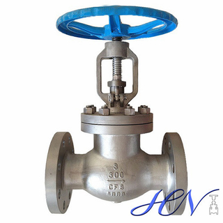 Quick Opening Stainless Steel Flanged Handwheel Gas Globe Valve